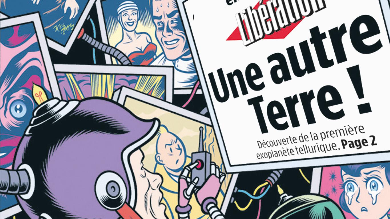 Exposition La Une s'affiche en BD - Alain Blaise- Ecole IntuitLab.- 11 avril 7 mai 2020-Festival BD Aix 2020