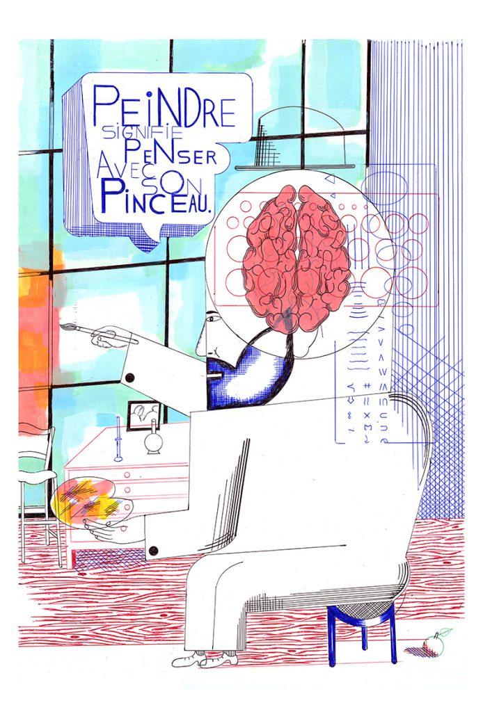 Eric LAMBE - Penser avec son pinceau
