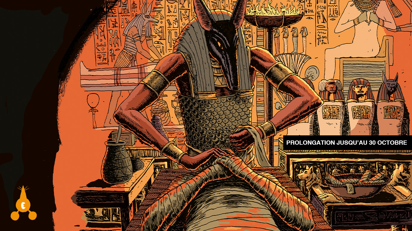 Les Dieux de l'Égypte – Djilian Deroche / Lieu 9 #danslesmurs