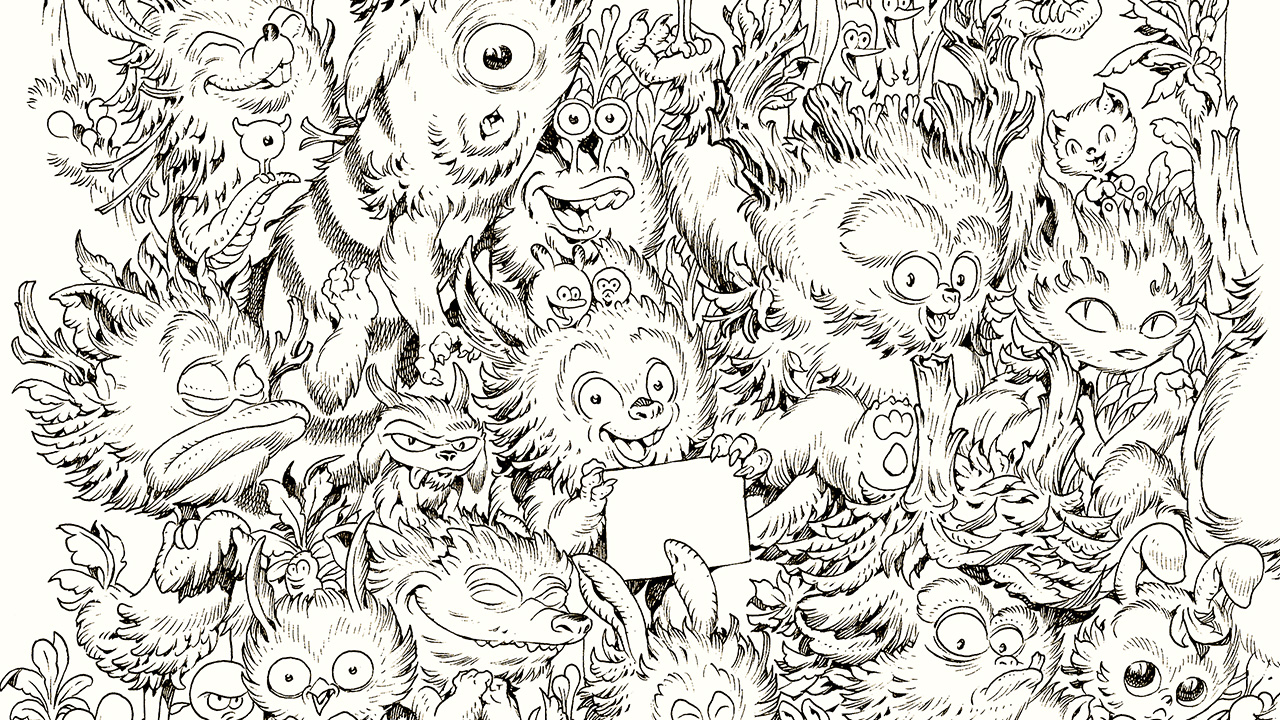 ZOO MONSTERS – LE GRAND COLORIAGE